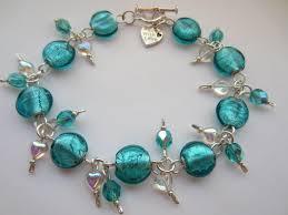 blue bead bracelet images Teal blue glass bracelet teal blue indian glass teal blue beaded jpg