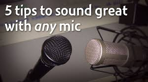 Desk Mic For Gaming by 5 Tips To Sound Great With Any Microphone