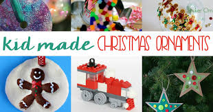 10 festive kid made ornaments