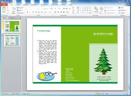 brochure templates for powerpoint blank powerpoint brochure
