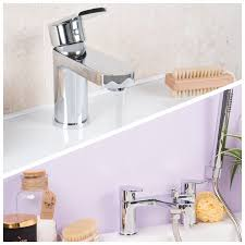 basin mixer and bath shower mixer tap pack flow basin mixer and bath shower mixer tap pack