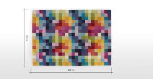 Tapis Salon Multicolore by Pixel Tapis 170 X 240 Cm Multicolore Made Com