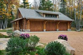 garage plans with porch inspiring log homes with garages plans using barn style garage