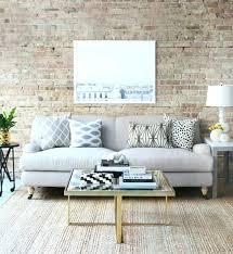 idée de canapé idee deco salon canape gris salon style industriel canape gris