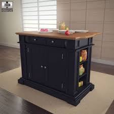 kitchen islands sale kitchen island in black with oak top home styles by humster3d
