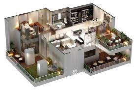 Glamorous 30x40 Duplex House Plans 3d Images Best Idea Home 2 Story House Plan 3d