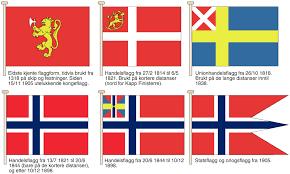 Dansk Flag Norges Flagg U2013 Store Norske Leksikon