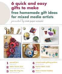Homemade Gift Ideas by 6 Quick And Easy Gifts To Make Free Homemade Gift Ideas