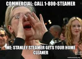 commercial call 1 800 steamer me stanley steamer gets your home