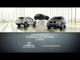 lexus clear lake save this summer with lexus of clear lake