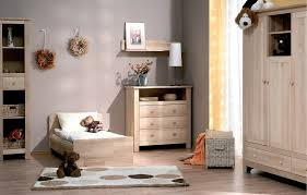 chambre a coucher bebe complete atb nature 2 meubles lit 140x70 commode avec plan à langer