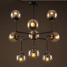 Retro Hanging Light Fixtures Molecule Beanstalk Led Pendant Light Fixtures Retro Vintage L