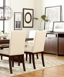 Sophia Mirrored Dining Room Furniture Collection  Pc  Table - Macys dining room furniture