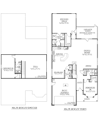 Empty Nest Floor Plans Home Design Floor Plans 3 Bedroom 2 Bath House With Garage
