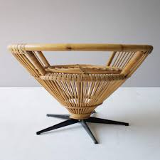 Coffee Table Styles by Rattan Coffee Table In The Style Of Franco Albini