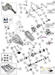 rear axle amc model 20 exploded view diagram jeep rear axle