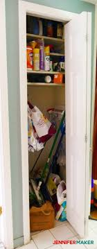 cleaning closet cleaning closet organization and tips jennifer maker