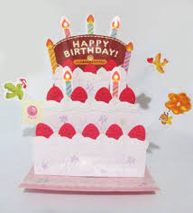 buy birthday party animals lights and melody pop up card in cheap