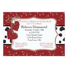 Cowboy Christmas Party Invitations - bandana invitations u0026 announcements zazzle