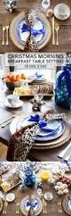 christmas morning breakfast table setting diy farmhouse table