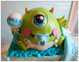 monsters inc baby shower ideas monsters inc baby shower cake square shape base baby in box shape