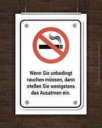anti raucher spr che die besten 25 rauchen verboten ideen auf rauchen