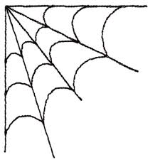 spider man clipart corner spider pencil color spider