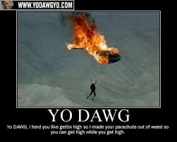 Sup Dawg Meme - yo dawg lets not and say we did