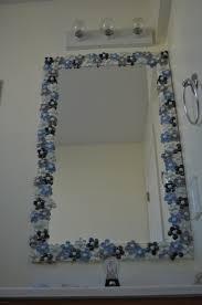 Decorate Bathroom Mirror Frame Decoration Ideas
