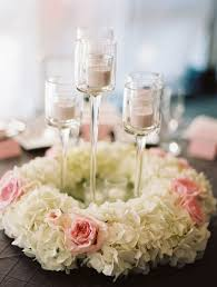 centerpieces with candles candle flower centerpieces wedding beautiful great wedding