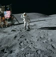 Picture Of Flag On Moon Telescope Pics Of Moon Landing Flag Page 2 Pics About Space