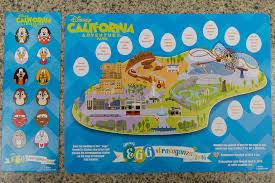 map of california adventure tales of the flowers 2016 disneyland egg stravaganza disney