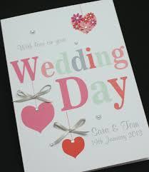 congratulations wedding card large handmade personalised hearts congratulations wedding card