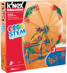 k u0027nex education stem explorations gears building set