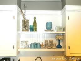 Extra Shelves For Kitchen Cabinets Grace Lee Cottage Updating Old Kitchen Cabinets