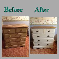 upcycled bedroom furniture 1950s dressing table handpainted unique