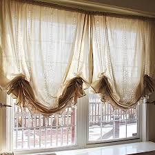Balloon Curtain Crochet Curtain