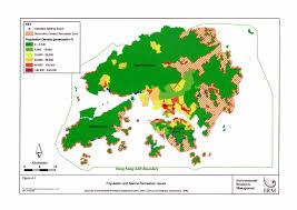World Population Density Map Hong Kong Population Density