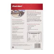 first alert rd1 radon gas test kit amazon com