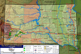 Map Of United States Physical Features by Geography Of South Dakota Wikipedia
