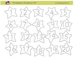kindergarten worksheets for numbers