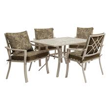 Hampton Bay Corranade 5 Piece - oak cliff patio dining sets patio dining furniture the home