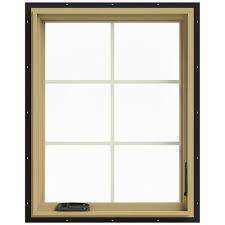 Jeld Wen 4500 by Black Windows Doors U0026 Windows The Home Depot