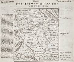 Geneva Map Map Of The Situation Of The Garden Of Eden From A London Edition