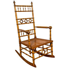 Antique Spindle Rocking Chair 1890s Chairs 45 For Sale At 1stdibs