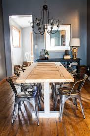 turn an old door into your new dining room table our home u0026 on