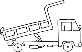 free coloring pages construction truck coloring book pages