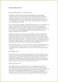 Best Resume Headline For Business Analyst by Best Resume Headline For Sales Free Resume Example And Writing
