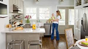 Southern Kitchen Designs Cottage Kitchen Makeover Decorating Tips U0026 Ideas Southern Living