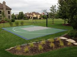 beautiful sport courts for backyards architecture nice